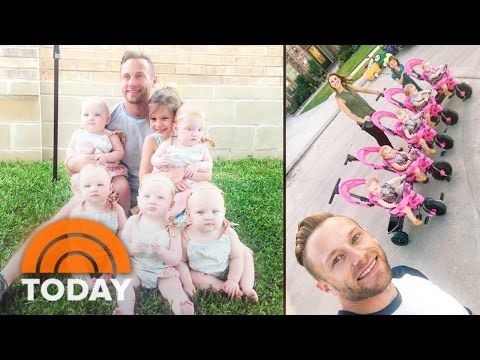 'OutDaughtered' Quintuplets Help Baby Sitter Dylan Dreyer Prepare For Motherhood | TODAY