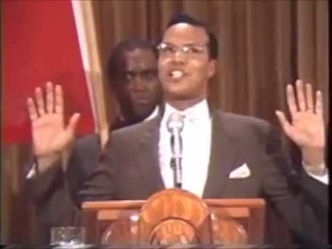 Louis Farrakhan: The American Flag or The Flag of Islam?