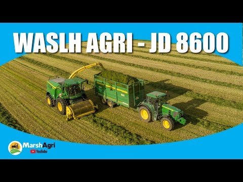 Walsh Agri Silage 2018 New John Deere 8600 Harvester