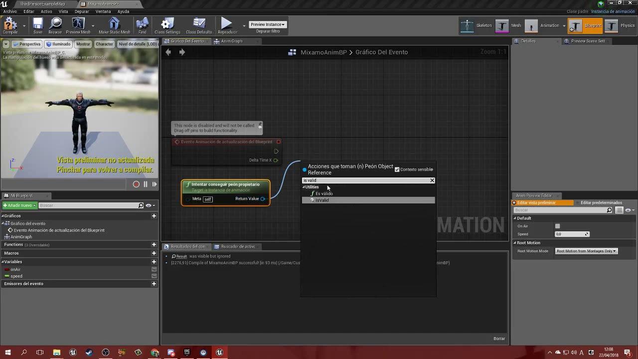 Ue4 19 tutorial animacion 04 animation blueprint variables youtube ue4 19 tutorial animacion 04 animation blueprint variables malvernweather Choice Image