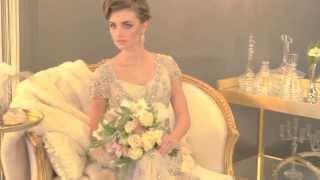 Vintage Wedding Fashion Photo Shoot Video -- mywedding.com