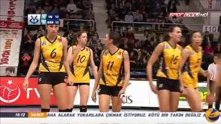 Vakifbank vs Bursa | 16 Jan 2017 | Turkish Cup Women - Play Offs 2017