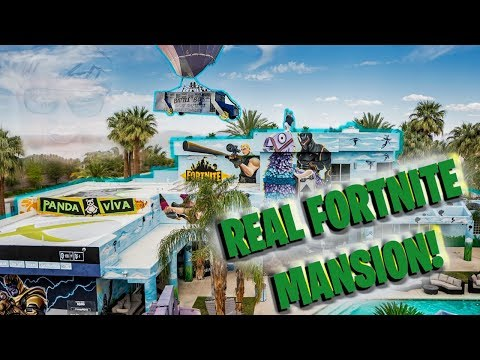 FORTNITE MANSION