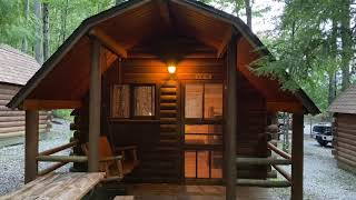 Staying At The K๐a campground In Petoskey Michigan