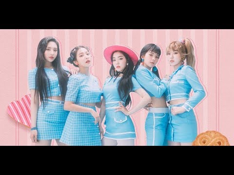Red Velvet dress for a tea party in teaser images for their Japanese debut!(News)