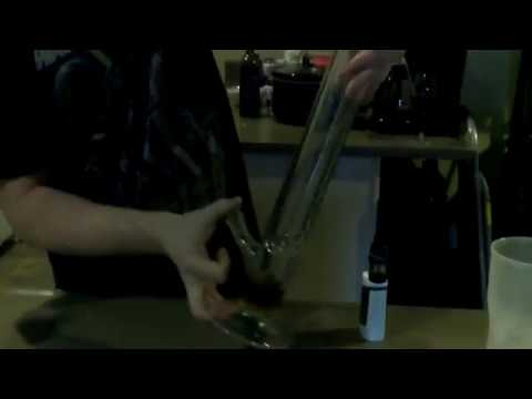 Dollar Store Bong Cleaning Tutorial