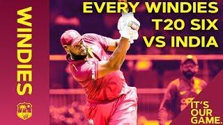 Pollard, Pooran and Powell Six-Fest! | Every Windies T20 Six vs India | 2019 IT20 Series