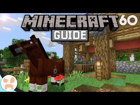 HORSE BASICS, TRAITS, & MORE! | The Minecraft Guide - Minecraft 1.14.4 Lets Play Episode 60