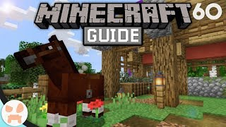 HORSE BASICS, TRAITS, & MORE! | Tнe Minecraft Guide - Minecraft 1.14.4 Lets Play Episode 60