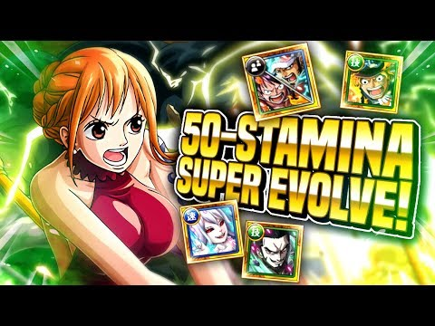 50-STAMINA NAMI ISLAND! Super Evolve Your Nami! (ONE PIECE Treasure Cruise)