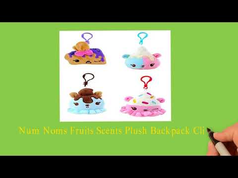 Num Noms Plush Fruits Scents Backpack Clip