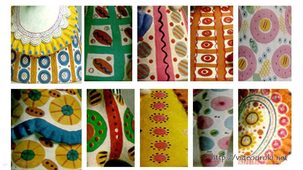 знакомство с произведениями народных художественных промыслов