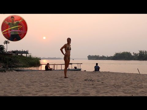 MOST BEAUTIFUL PLACE IN LAOS DON DET ISLAND - Ep 146