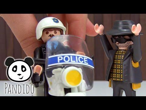 ⭕ PLAYMOBIL Polizei - Polizeikoffer Mit Dieb - Spielzeug Ausgepackt & Angespielt - Pandido TV