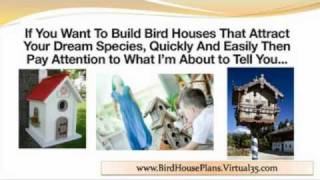 Bird House Plans - Decorative Bird Houses - Bird House Plans Easy