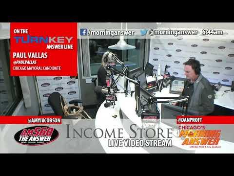 Paul Vallas talks about his economic development plan for Chicago