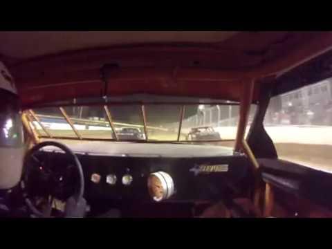 Mark Ziepfel Florence Speedway Pure Stock Heat October 8, 2016