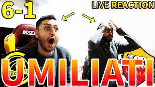 🤬 UMILIATI... BODO GLIMT-ROMA 6-1 [LIVE REACTION]