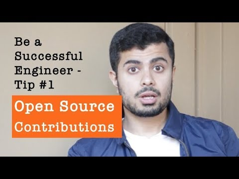 How to be a Successful Software Developer: Open Source Contributions