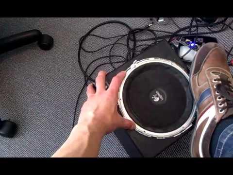 Logitech Z640 subwoofer  YouTube