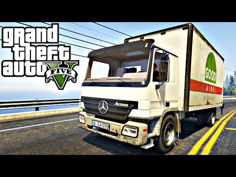 GTA V: Mercedes-Benz Actros #11