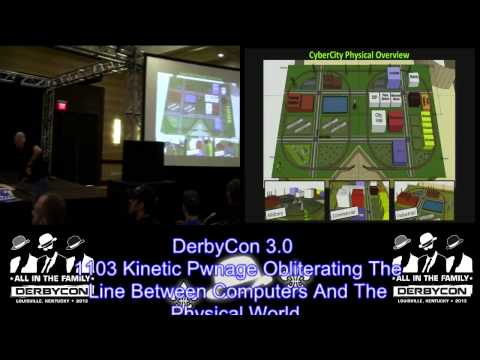 DerbyCon 3 0 1103 Kinetic Pwnage Obliterating The Line Between Computers And The Physical World Ed S