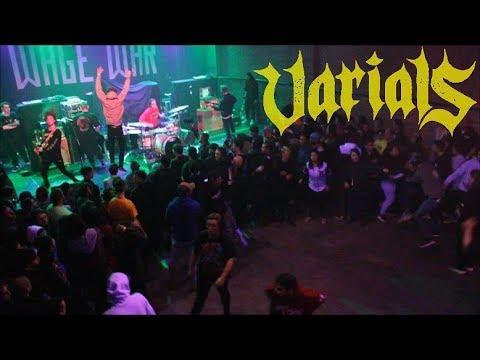 Varials - Full Set - Deadweight Tour Part II - Asbury Park, New Jersey - 12/10/17