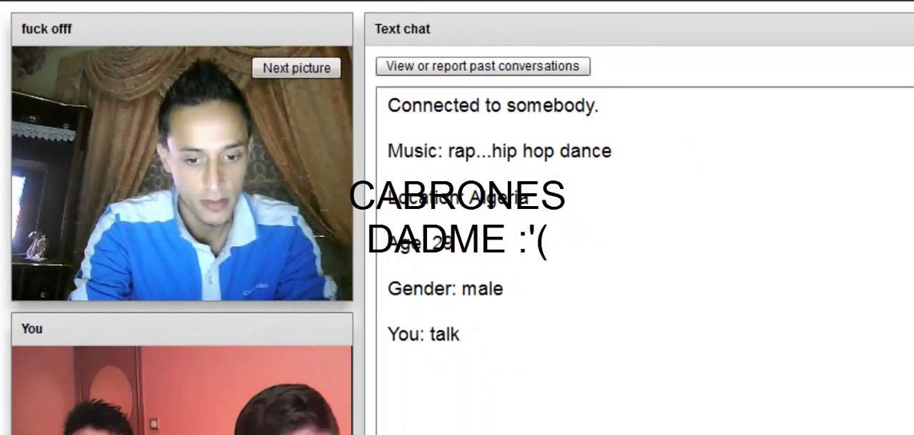 chatroulette homosexual