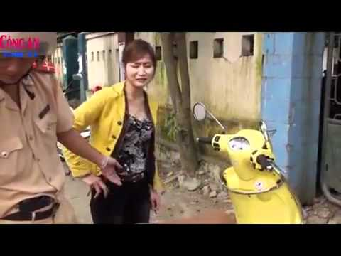 Video kiều nữ bất chấp pháp luật GIao Thông