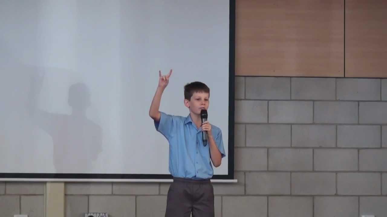 Andy Captain Nominee Speech YouTube