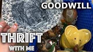 Filled My Cart aṡ GOODWILL Was RESTOCKING the Shelves! | Thrift with Me for Ebay | Reselling