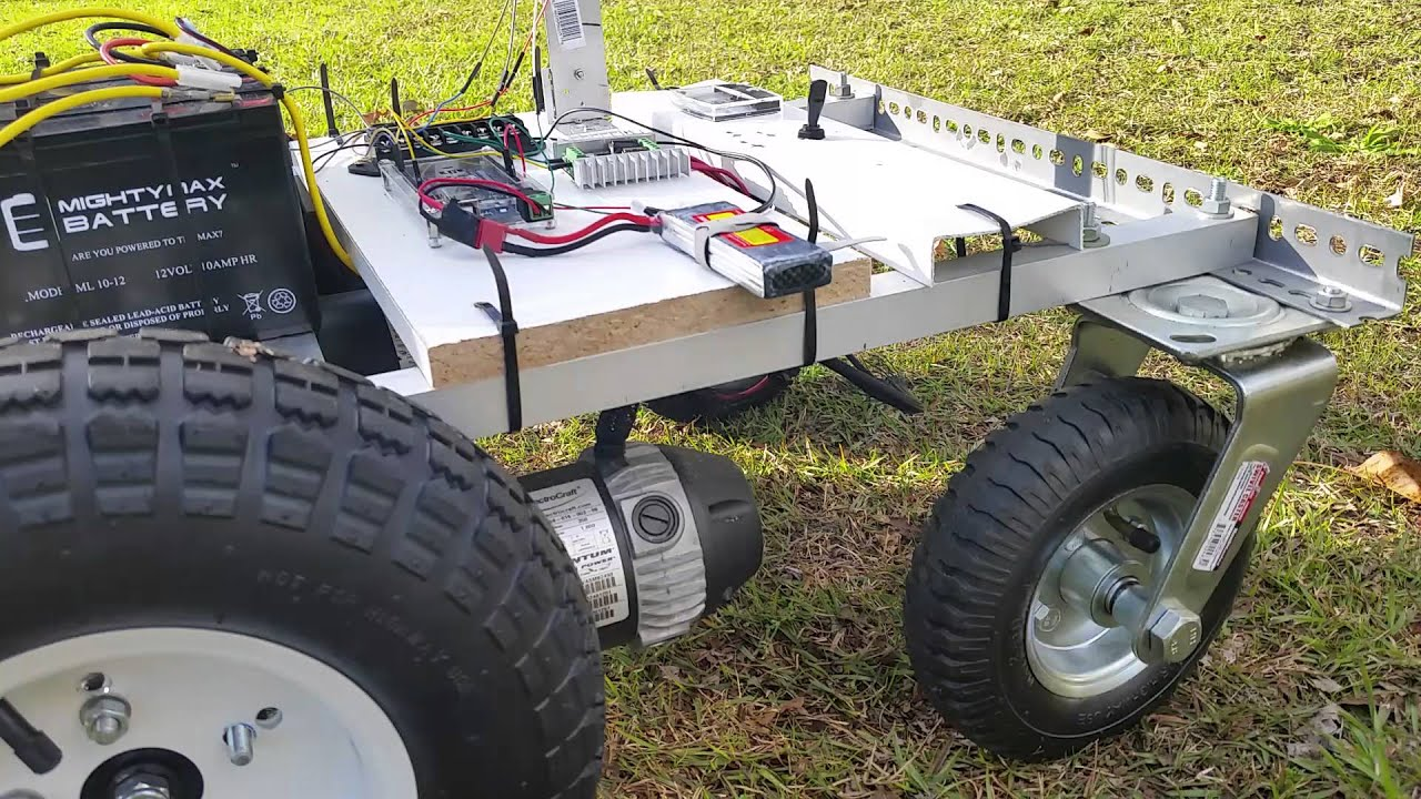 Bluetooth Arduino Robot Sabertooth Youtube