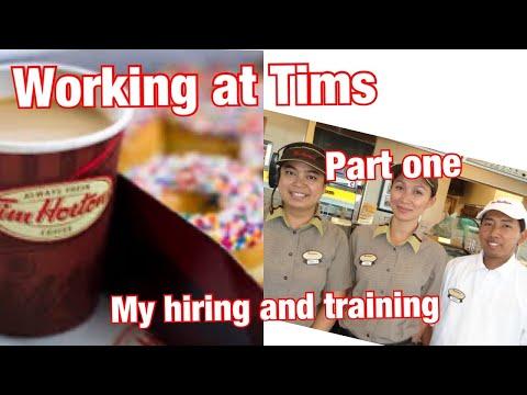 WORKING AT TIM HORTONS