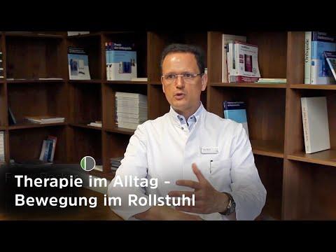 Rollstuhl mit eingebauter Bewegungstherapie (Hebelantrieb und Dynamischer Sitz) - Mediziner erklären