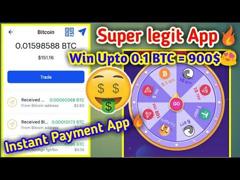 Super Legit App | Win Upto 0.1 BTC | Instant Payment App | Boolwallet App | Free BTC Earning Wallet
