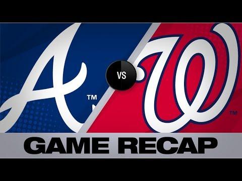Sanchez, 'pen silence Braves' hot bats | Braves-Nationals Game Highlights 9/15/19