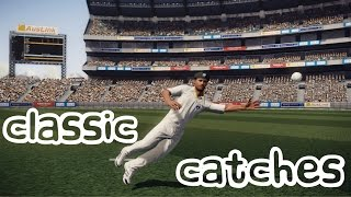 Top 10: Classic Catches   Don Bradman Cricket 14