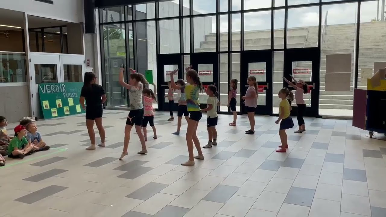 Chorégraphie camp Choréo groupe 2- Semaine 6 - Collège Montmorency
