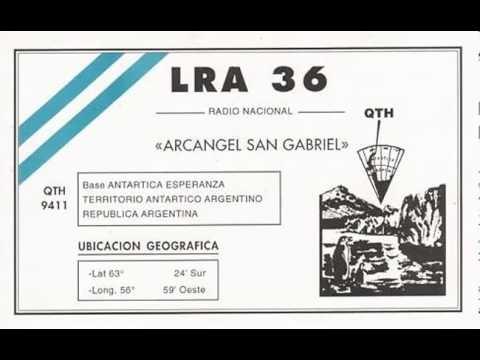 LRA 36   17-7-2013  DE 19 A 20 UTC  15476 KHz