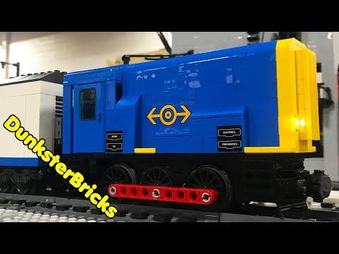 Awesome LEGO Custom Locomotives, Steam and Diesel Trains on Penn LUG Railway, 2018!