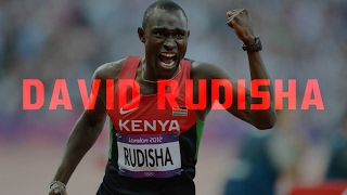 DAVID RUDISHA//ON TOP OF THE WORLD