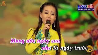 [Karaoke HD] LK Cánh Thiệp Đầu Xuân & Đón Xuân - Lưu Ánh Loan ✔
