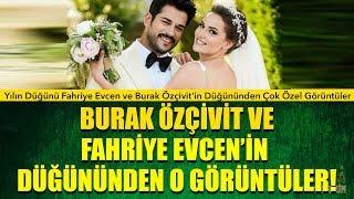 Yılın Düğünü Fahriye Evcen ve Burak Özçivit'in Düğününden Çok Özel Görüntüler Uçankuş Magazin'de!