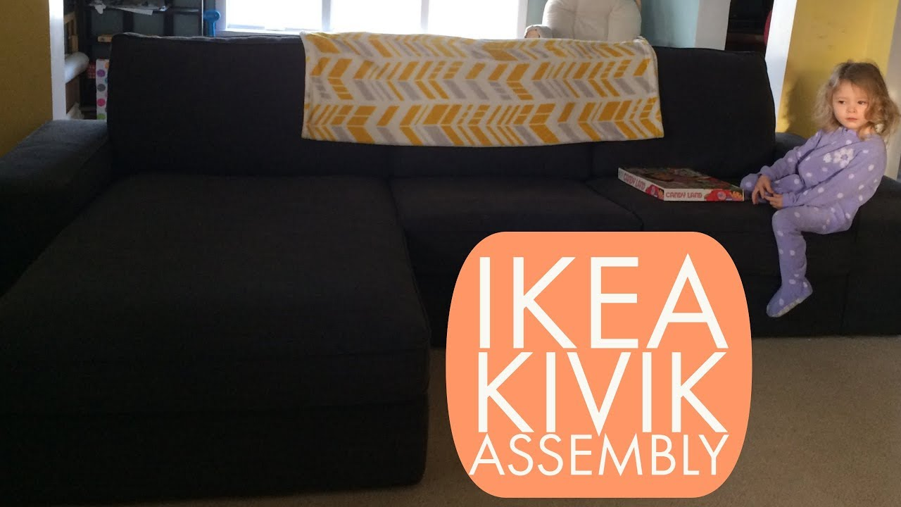 Ikea Kivik Sofa Assembly Putting Together Ikea Kivik Couch Chaise