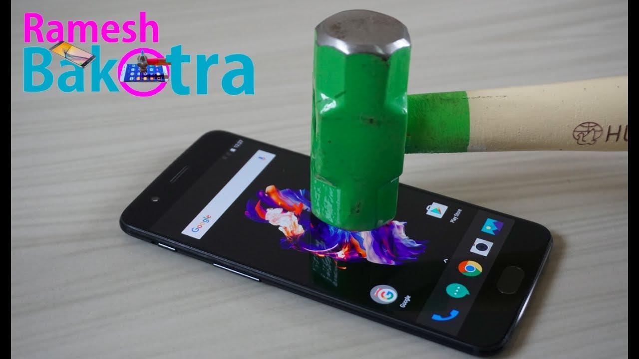 oneplus 5 screen scratch test gorilla glass 5 youtube. Black Bedroom Furniture Sets. Home Design Ideas