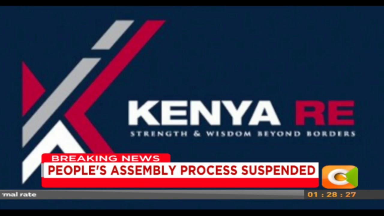 Long serving Kenya Reinsurance Corporation Managing Director Jadiah Mwarania has left the company