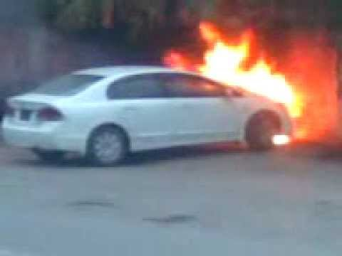 Faisalabad car fire near aminpur youtube for Bano bazar faisalabad