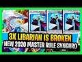New Yugioh Rule in 2020 Makes Synchro Decks Broken Triple Librarian TG Synchro Blazar Dragon Deck