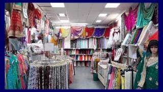 Sari-Geschäft Frankfurt