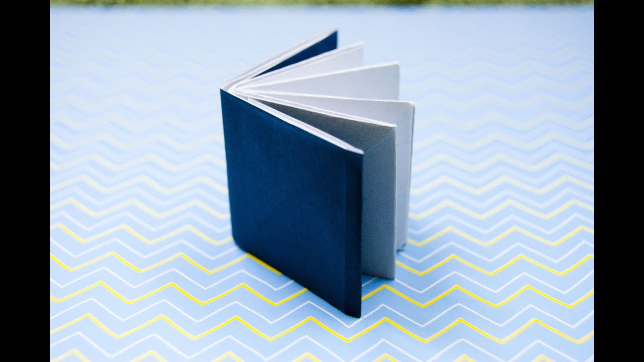 how to make an origami book youtube